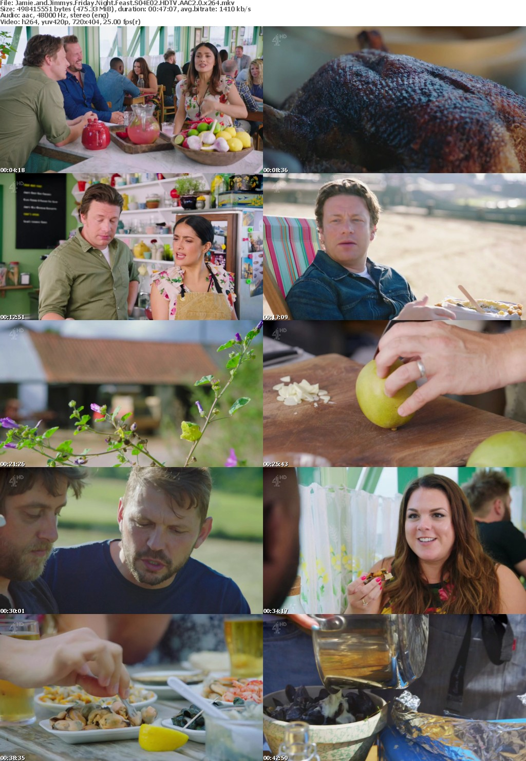 Jamie and Jimmys Friday Night Feast S04E02 HDTV AAC2 0 x264