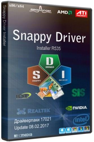 Snappy Driver Installer R535 / Драйверпаки 17021 (15.02.2017/RUS/MULTi)