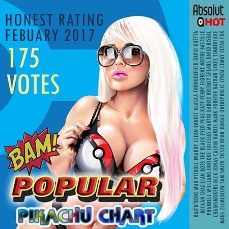 Popular Pikachu Chart ( 2017 )