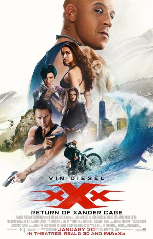 Xxx Return Of Xander Cage 2017 720p Hc Hdrip X264 Ac3-evo
