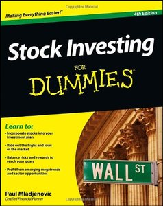 Stock Investing For Dummies, 4 edition