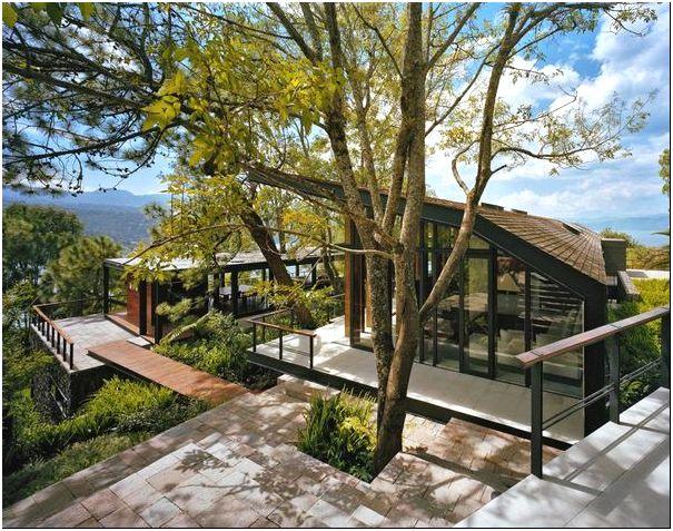 Максимум солнца и радости: современный casa en el bosque от parque humano, валье-де-браво, мексика