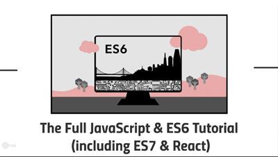 Udemy The Full JavaScript amp ES6 Tutorial including ES7 amp React