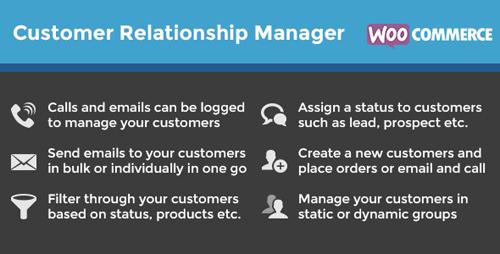 CodeCanyon - WooCommerce Customer Relationship Manager v3.3.3 - 5712695