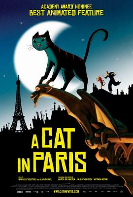 Кошачья жизнь / A Cat in Paris / Une vie de chat (2010) BDRip 1080p
