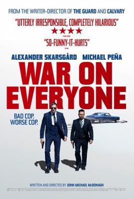 Война против всех / War on Everyone (2016) Blu-Ray Remux 1080p