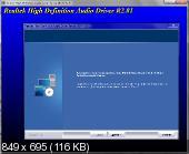 Realtek High Definition Audio Drivers 6.0.1.8036 WHQL