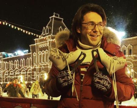 Андрей Малахов на катке