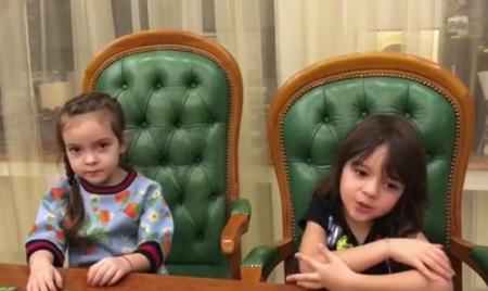 Дети Филиппа Киркорова записали видеообращение к Андрею Малахову