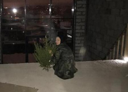 Настасья Самбурская в своем особняке