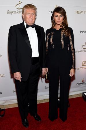 Дональд Трамп с женой Меланией