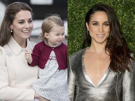Принц Гарри познакомил Меган Маркл с Кейт Миддлтон и племянницей Шарлоттой