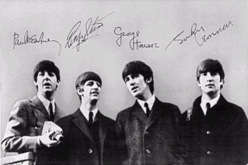 The Beatles - первый состав