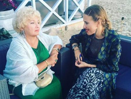 Ксения Собчак с мамой Людмилой Нарусовой