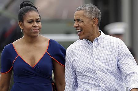 Жизнь вне Белого дома: Барак и Мишель Обама отдыхают на острове, а их дочь Малия работает на фестивале Sundance