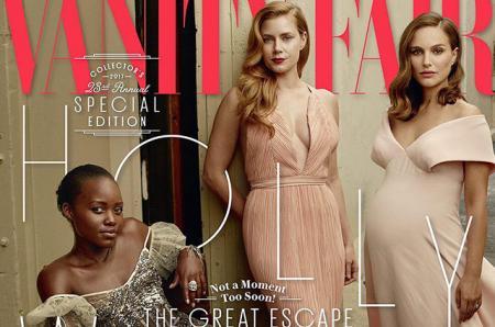 Беременная Натали Портман, Эмма Стоун, Дакота Джонсон и другие актрисы появились на обложке Vanity Fair