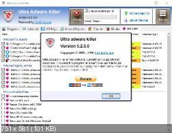 Ultra Adware Killer 5.2.0.0 - удалит ненужные панели инструментов