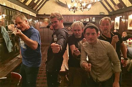 Братство кольца: актеры из