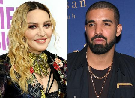 СМИ: У Мадонны и Дрейка был короткий, но страстный роман