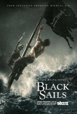 Чёрные Паруса / Черные паруса / Black Sails [Сезон: 4, Серии: 1-4] (2017) HDTVRip 720p | AlexFilm