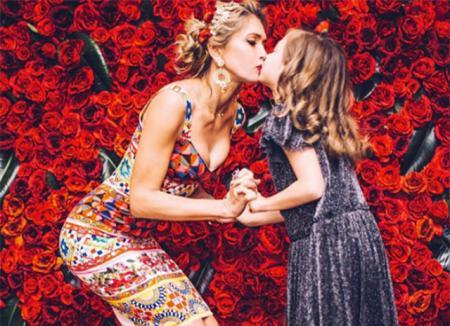 Вера Брежнева отметила 35-летие в стиле Dolce & Gabbana