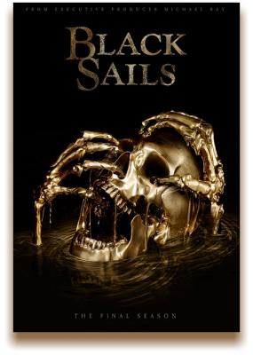 Чёрные паруса / Черные паруса / Black Sails [Сезон: 4, Серии:1-4] (2017) WEBRip 1080p | Amedia