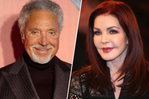 СМИ: Том Джонс встречается с бывшей супругой Элвиса Пресли