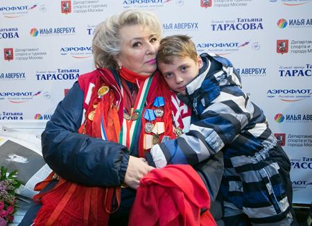 татьяна тарасова с племянником
