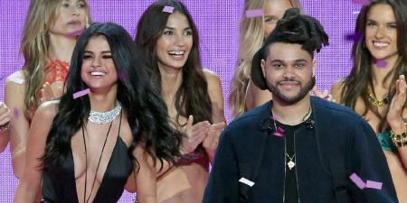 Селена Гомес подарила The Weeknd мальчишник