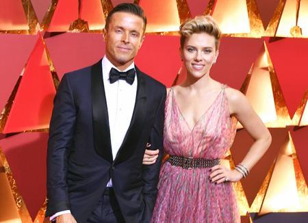 Оскар-2017: Скарлетт Йоханссон повторила выход в свет с