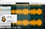 Ocenaudio 3.2.4 - визуальный аудио редактор