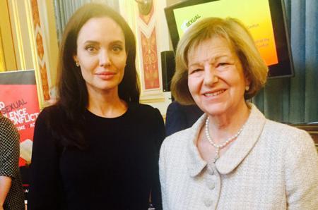Анджелина Джоли вновь встала на защиту жертв сексуального насилия в зонах военных конфликтов