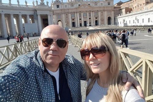 Валерия и Пригожин отправились в Рим праздновать 14-летие отношений