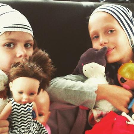 Дочери Павла и Ольги — Варвара и Александра