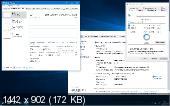 Windows 10 Pro rs1 14393.953 PIP v2 by Lopatkin (x86-x64) (2017) [Rus]