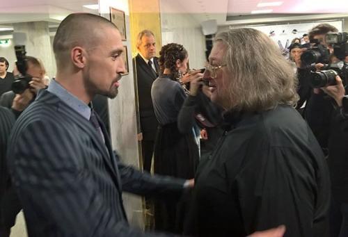 Лысый Дима Билан шокировал своим внешним видом Александра Градского