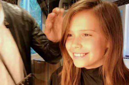 Совсем взрослая: Джессика Альба сделала своей 5-летней дочке первую стрижку