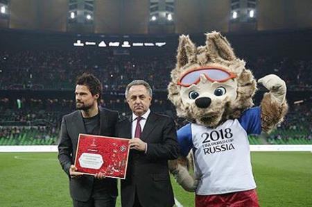 Данила Козловский стал послом чемпионата мира по футболу 2018 года
