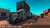 American Truck Simulator (2016/RUS/ENG/MULTi23/RePack)