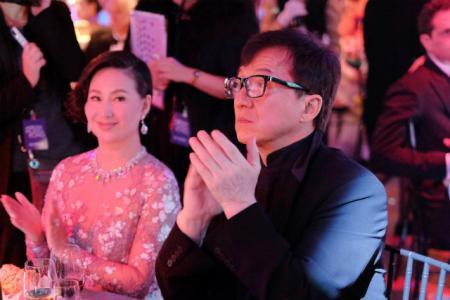 Панси Хо и Джеки Чан