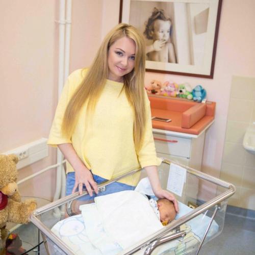 Дарья Пынзарь выложила в Сеть фото младшего сына