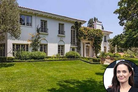 Анджелина Джоли хочет купить дом за 25 миллионов долларов: фото понравившегося актрисе особняка