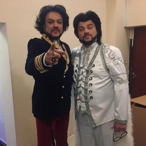 Филипп Киркоров обзавелся братом-близнецом