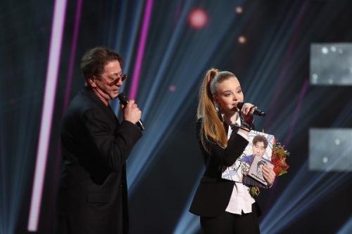 Григорий Лепс спел в дуэте с юной участницей шоу «Ты супер!»