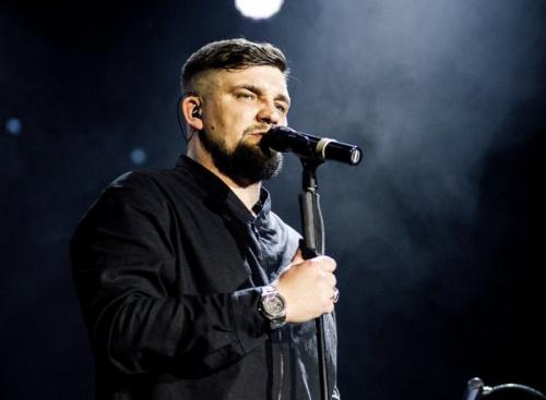 В Уфе Баста презентовал свою новую песню на концерте