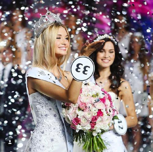 «Мисс Россия 2017» Полина Попова выиграла три миллиона и автомобиль