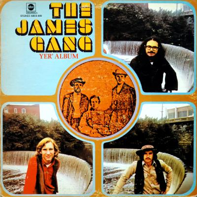 The James Gang - Yer' Album (LP1969)