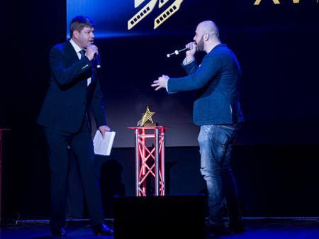 Церемония награждения XV Юбилейного международного фестиваля спортивного кино «Красногорский»
