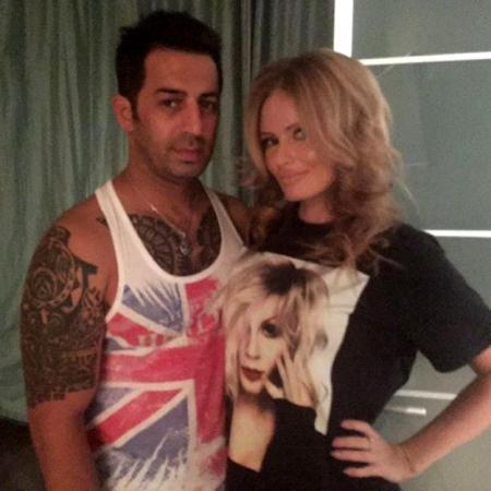 Со своим парикмахером Реем САМЕДОВЫМ. Фото: Instagram.com