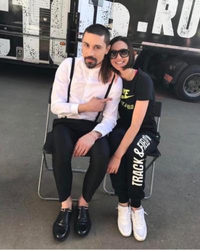 Ольга Бузова пришла на съемочную площадку к Диме Билану